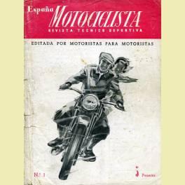REVISTA ESPAÑA MOTOCICLISTA Nº 1 NOVIEMBRE 1951