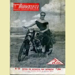 REVISTA ESPAÑA MOTOCICLISTA Nº50