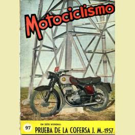 MOTOCICLISMO Nº 97 1957