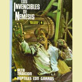 LOS INVENCIBLES DE NEMESIS Nº 4