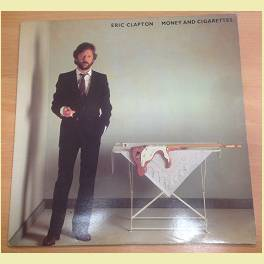 LP ERIC CLAPTON /MONEY AND CIGARETTES