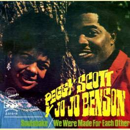 SINGLE PEGGY SCOTT & JO JO BENSON /SOUISHAKE