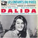 EP DALIDA LES ENFANTS DU PIREE + 3
