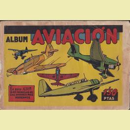 ALBUM INCOMPLETO AVIACION