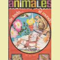 ALBUM INCOMPLETO ANIMALES DE TODO EL MUNDO