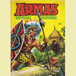 ALBUM INCOMPLETO ARMAS ANTIGUAS Y MODERNAS