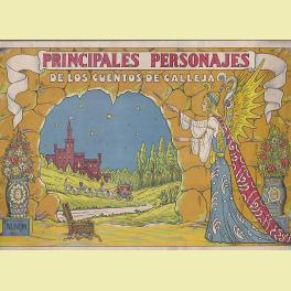 ALBUM INCOMPLETO PRINCIPALES PERSONAJES DE LOS CUENTOS DE CALLEJA