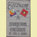 ALBUM COMPLETO BANDERAS Y ESCUDOS DE TODO EL MUNDO