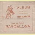 ALBUM COMPLETO SOBRE BALON C.F. BARCELONA