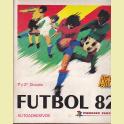 ALBUM COMPLETO FUTBOL 82 EDITORIAL PANINI