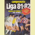 ALBUM COMPLETO LIGA 81/82 EDICIONES ESTE