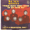SINGLE THE NEW SEEKERS  - WHAT HAVE THEY DONE TO MY SONG MA