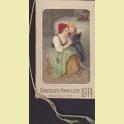 CALENDARIO BOLSILLO CHOCOLATE AMATLLER PARA 1914