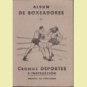 ALBUM COMPLETO EDITORIAL VALENCIANA BOXEADORES ALBUM 3º 1941