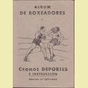 ALBUM COMPLETO EDITORIAL VALENCIANA BOXEADORES ALBUM 2º 1941