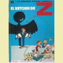 COMIC ESPIRU I FANTASTIC Nº10 EL RETORN DE Z
