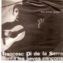 EP FRANCESC PI DE LA SERRA CANTA LAS EVES CANÇONS