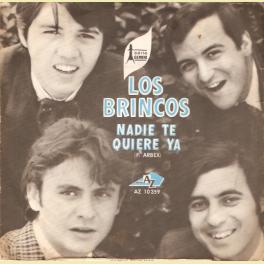SINGLE  LOS BRINCOS NADIE TE QUIERE YA EDITADO EN FRANCIA