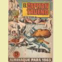 EL CAPITAN TRUENO EXTRA ALMANAQUE 1963