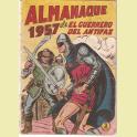 EL GUERRERO DEL ANTIFAZ ALMANAQUE 1957