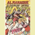 EL GUERRERO DEL ANTIFAZ ALMANAQUE 1951