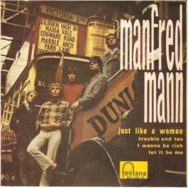 EP MANDRED MANN  -JUST LIKE A WOMAN
