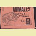 Sobre cromos sin abrir Animales su Vida sus luchas su ambiente Editorial Fher