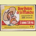 Sobre cromos sin abrir Don Quijote de la Mancha Editorial Bruguera