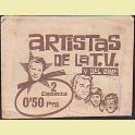 Sobre cromos Artistas de la T.V. y del Cine Ediciones Este