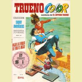 TRUENO COLOR 1ª EPOCA Nº  15