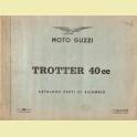 CATALOGO DESPIECE MOTO GUZZI TROTTER 40 1966
