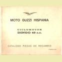 CATALOGO DESPIECE MOTO GUZZI CICLOMOTOR DINGO 49 CC