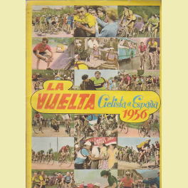 Album incompleto Vuelta Ciclista 1956 Editorial Fher