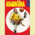 Album completo Argentina 78  Editorial Fher