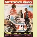 REVISTA MOTOCICLISMO FEBRERO 1972