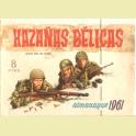 ALMANAQUE HAZAÑAS BELICAS 1961