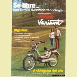 FOLLETO PUBLICITARIO DERI VARIANT