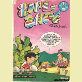 ZIPI Y ZAPE Nº184