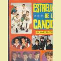 ALBUM INCOMPLETO ESTRELLAS DE LA CANCION EDICIONES U.D.E.